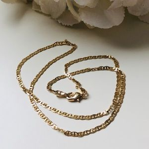 Jewelry - Thick 18K Gold Plated Chain Necklace